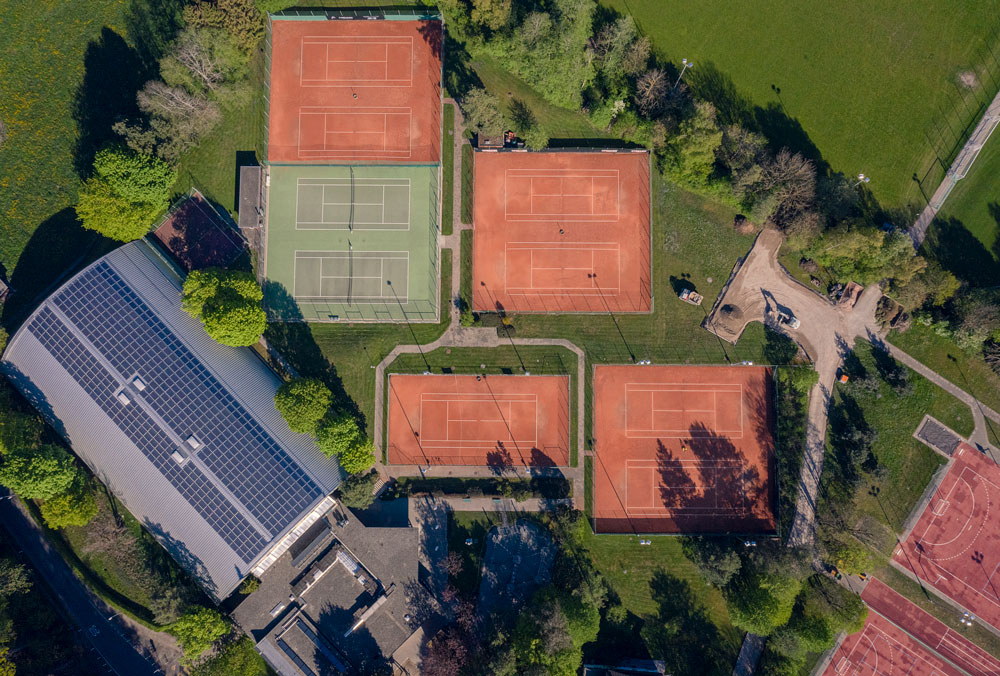 Gründenmoos Drohne, NetzwerkSport Tennis