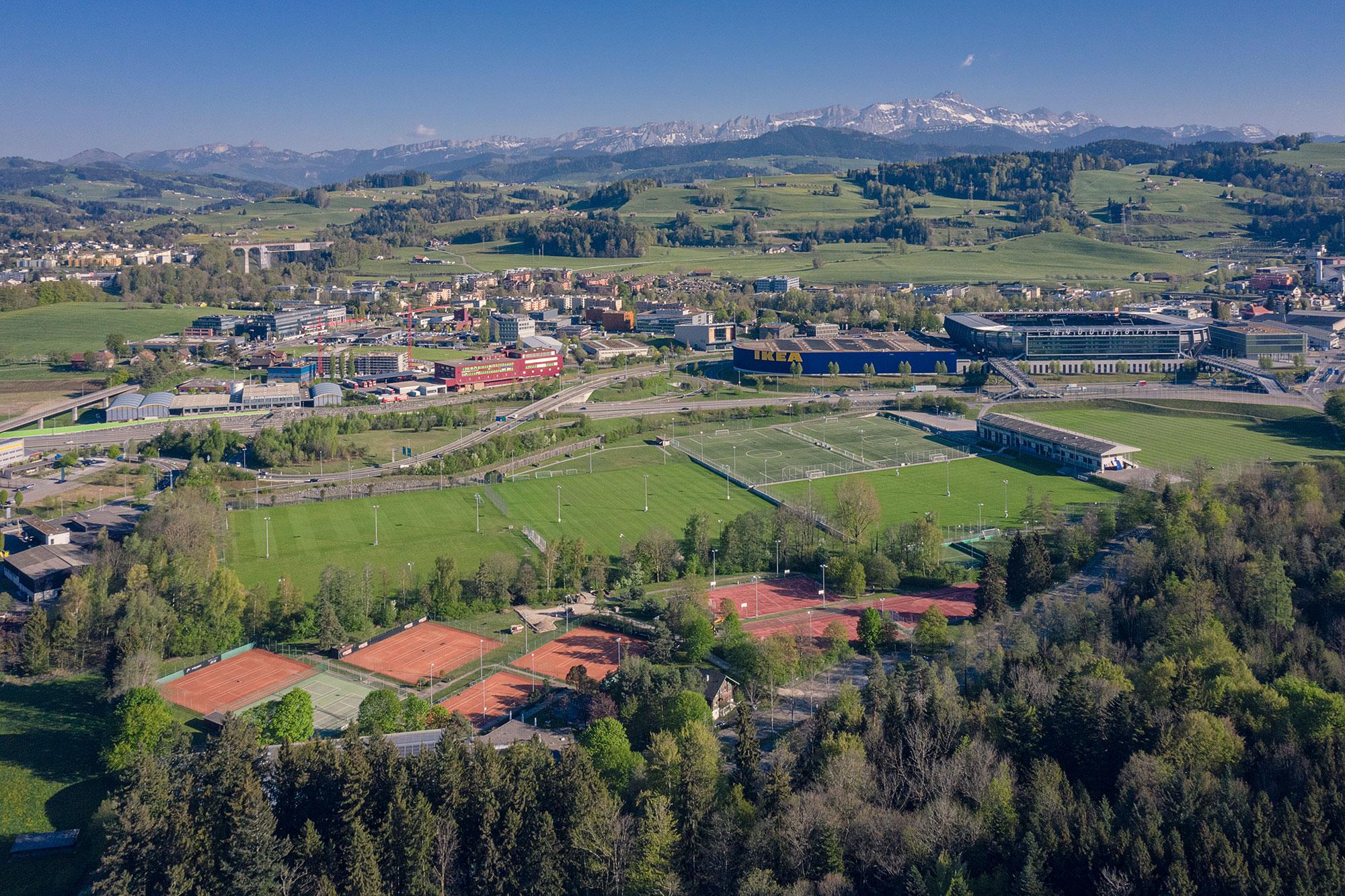 Gründenmoos, St.Gallen, Sportanlage